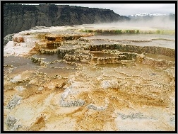 Yellowstone, Wodospad, Park